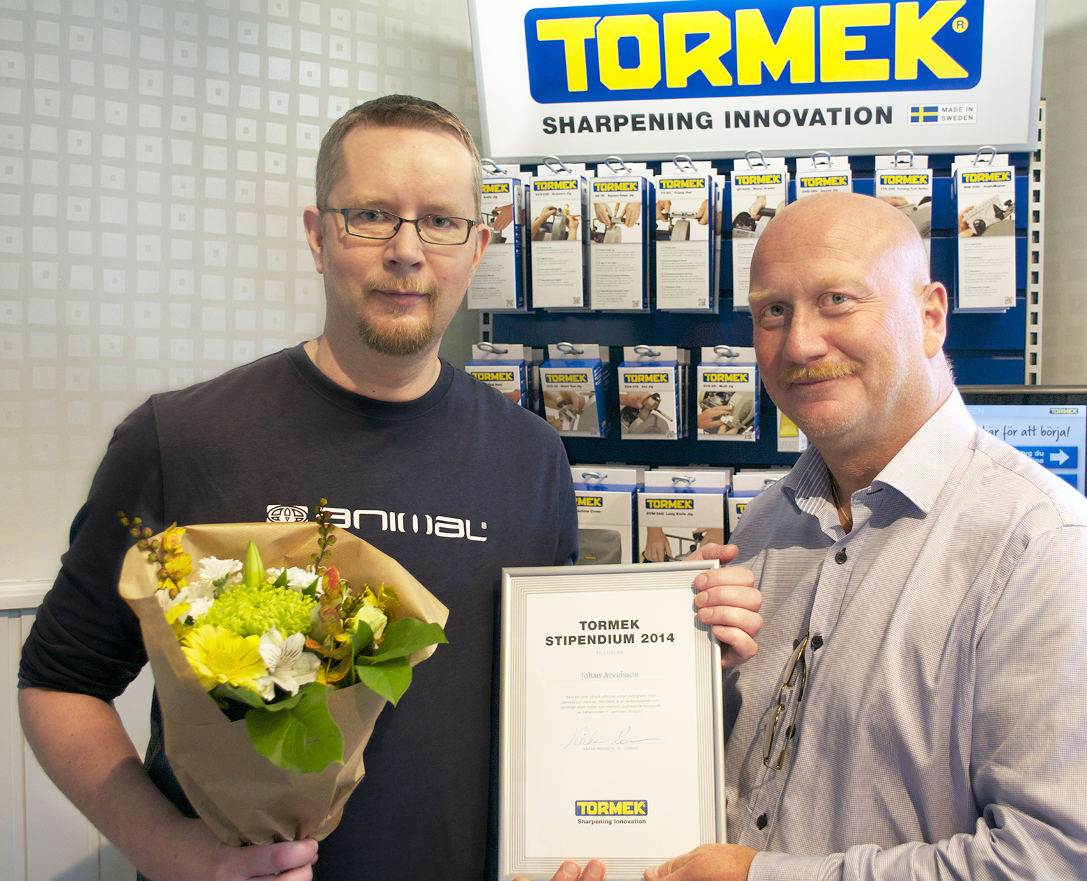 Tormek Scholar for 2014