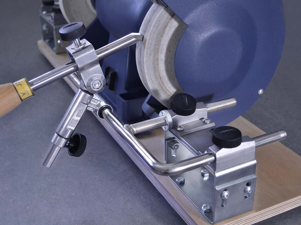 Enjoyable Bgm 100 Bench Grinding Mounting Set Tormek Lamtechconsult Wood Chair Design Ideas Lamtechconsultcom
