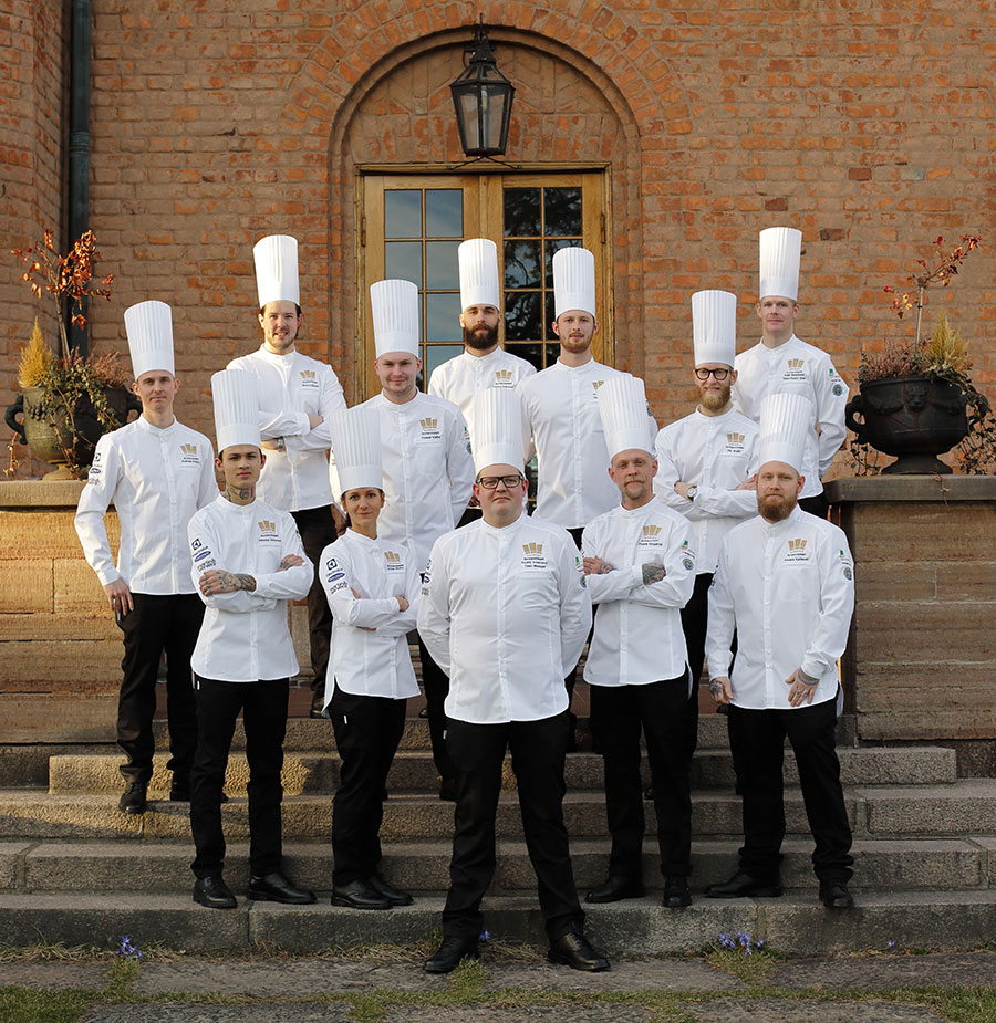 Tormek in collaboration with the Swedish Culinary Team