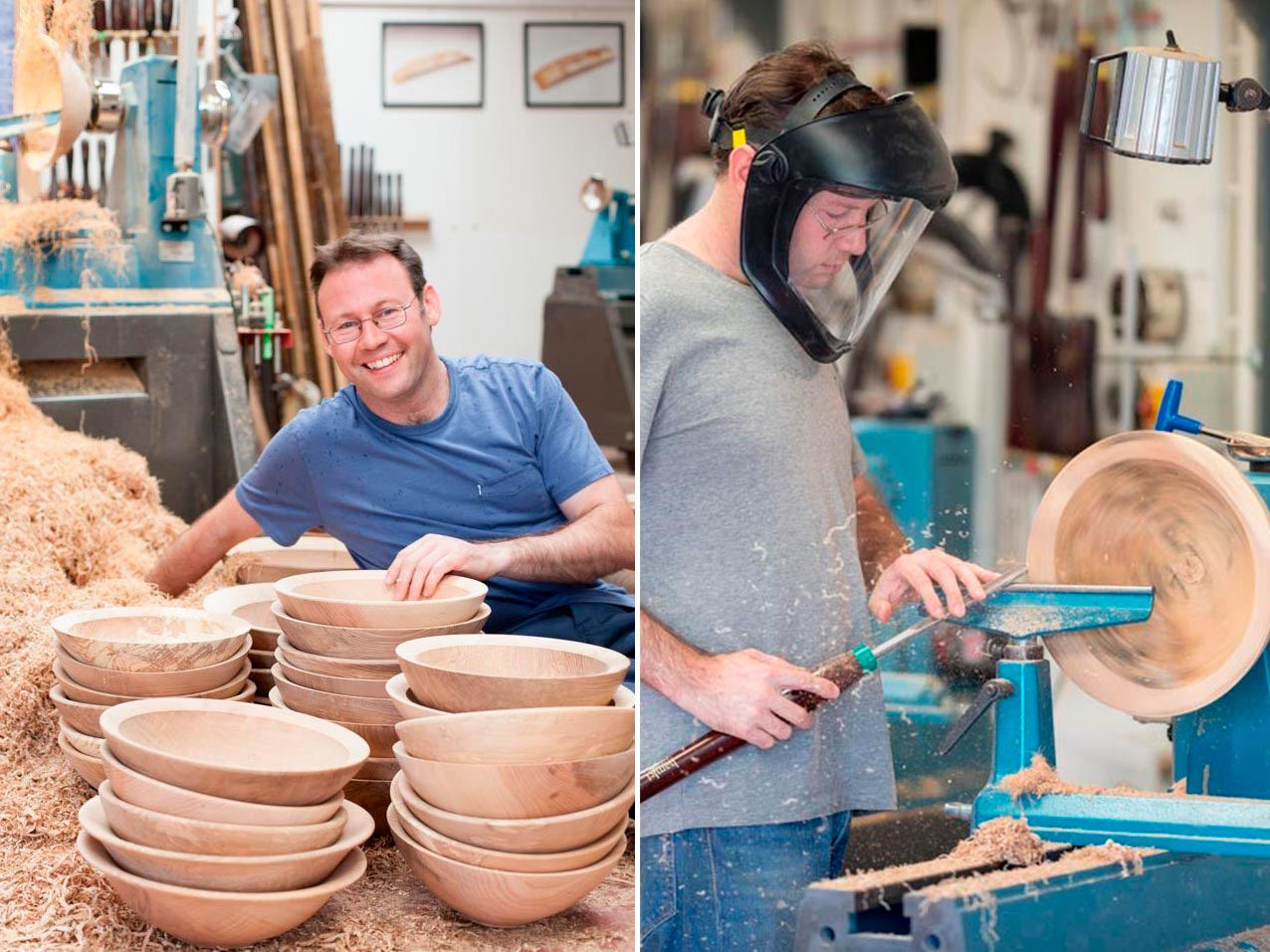 Woodturning inspiration with Glenn Lucas on October 2