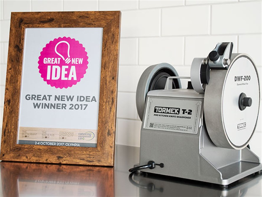 Tormek T-2, winner of the Great New Idea Award 2017