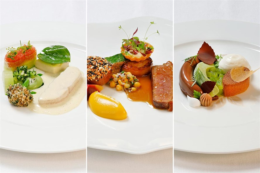 The winning dishes in the Culinary World Cup.