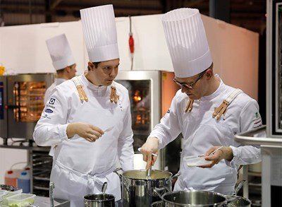 The Swedish Culinary Team wins the Culinary World Cup
