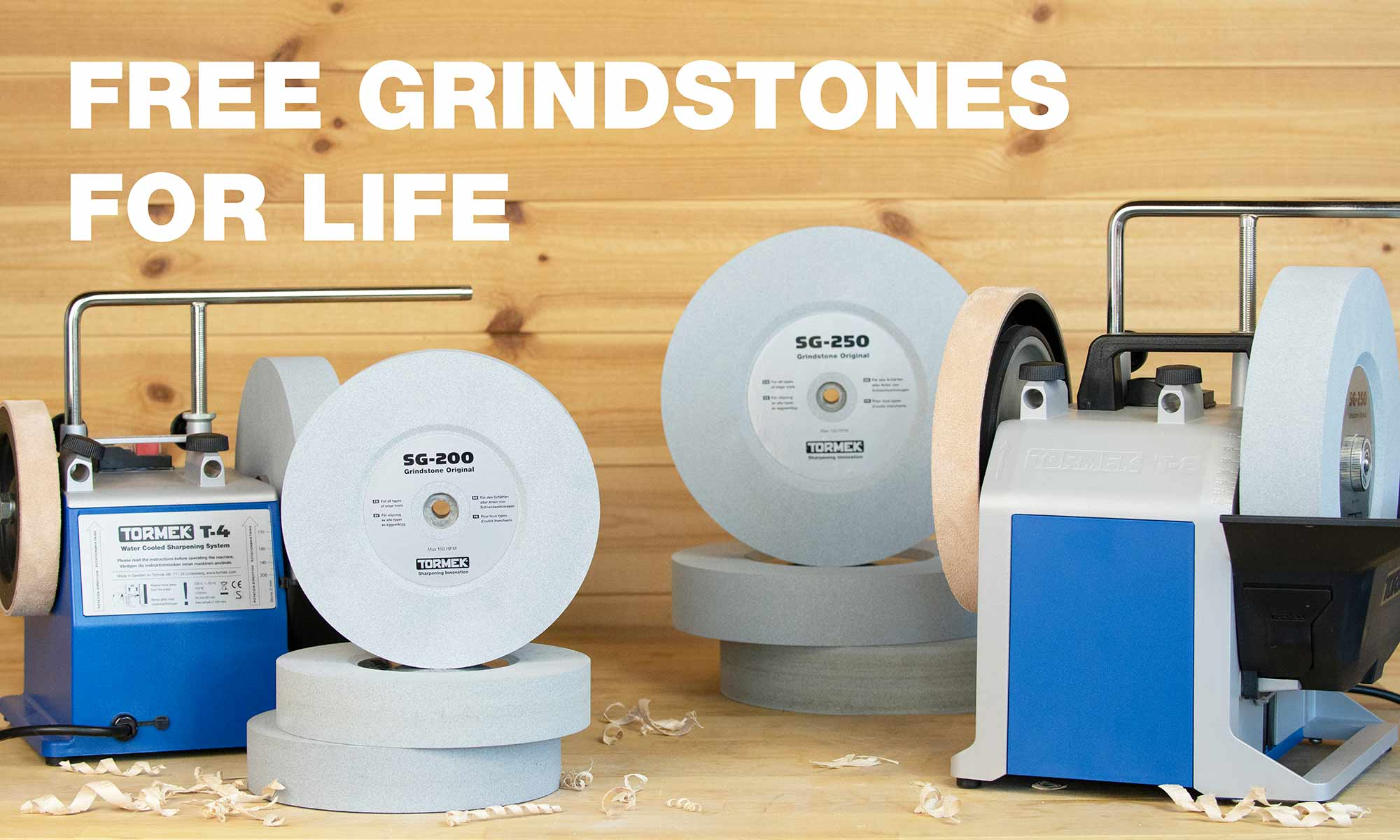 Free Grindstones For Life