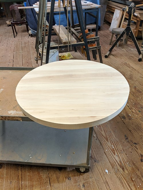 Shield Story Nick Agar Maple Round